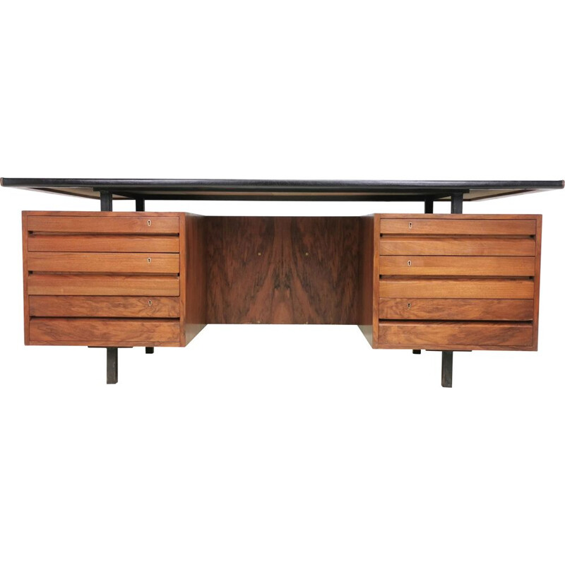 Mid century rosewood executive desk by Robin Day for Hille, circa 1970s