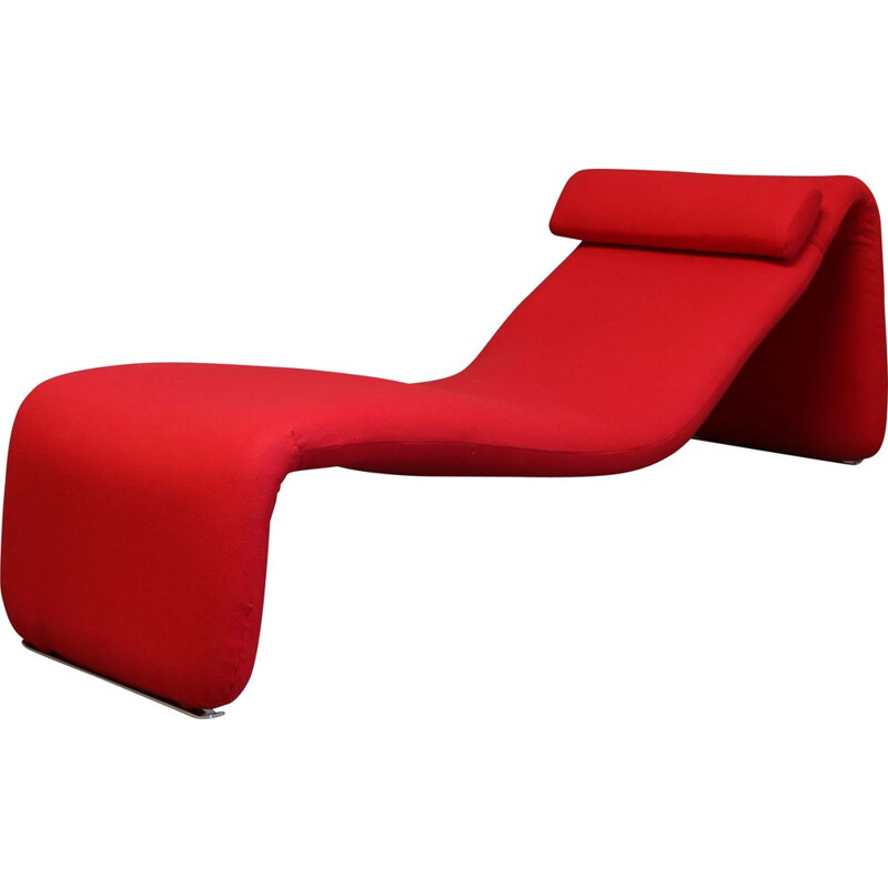 Mid century Djinn armchair or daybed by Olivier Mourgue for Airborne International, France 1965s