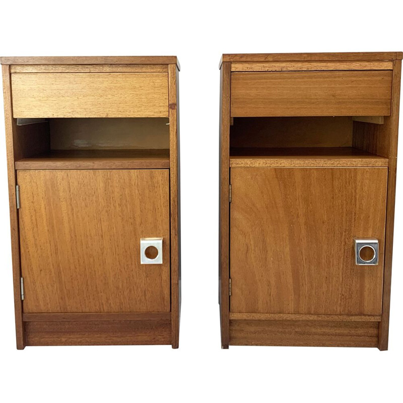 Pair of mid century bedside cabinets for G Plan, 1960s