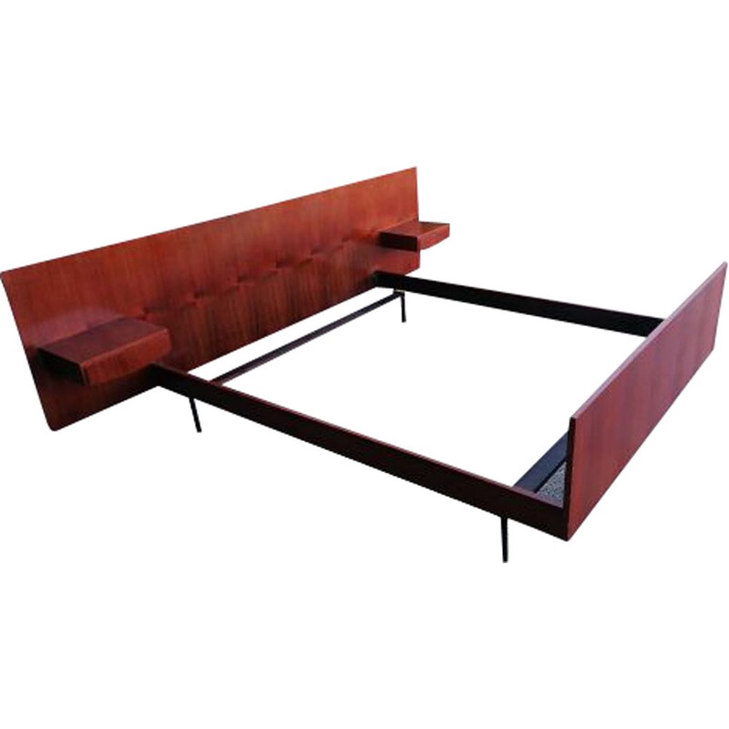 Vintage bed by André Simard, 1960s