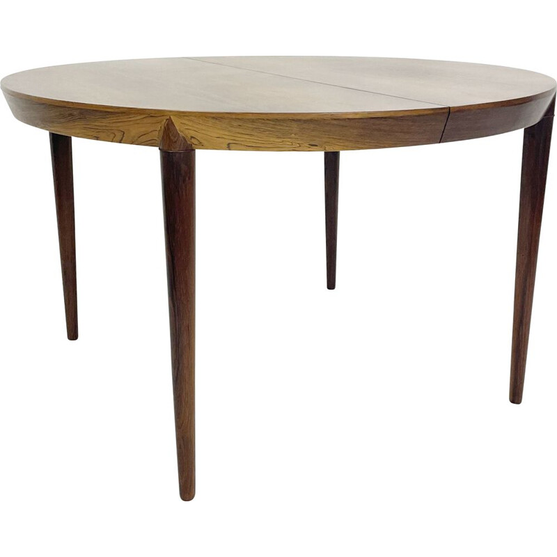 Mid century dining table with 1 extension by Severin Hansen, Denmark 1960s