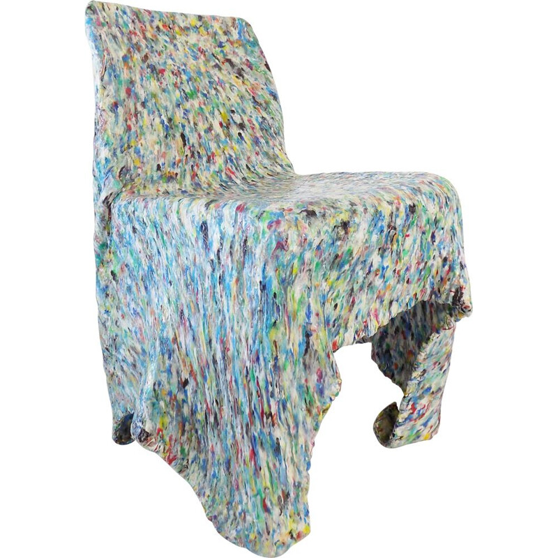 Mid century confetti chair by Bär and Knell, 1990s