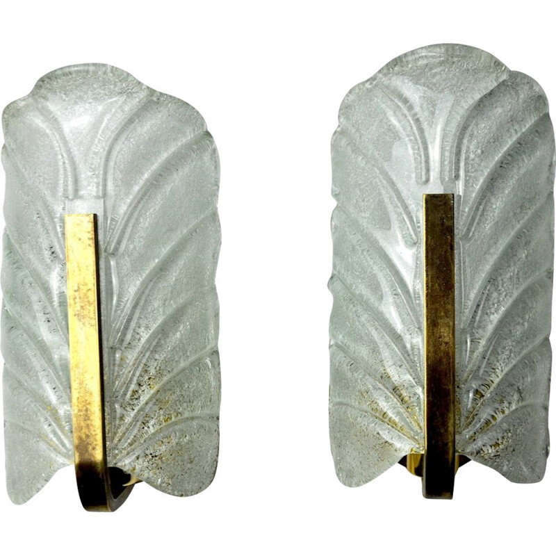 Pair of mid century sconces by Carl Fagerlund, Austria 1970s