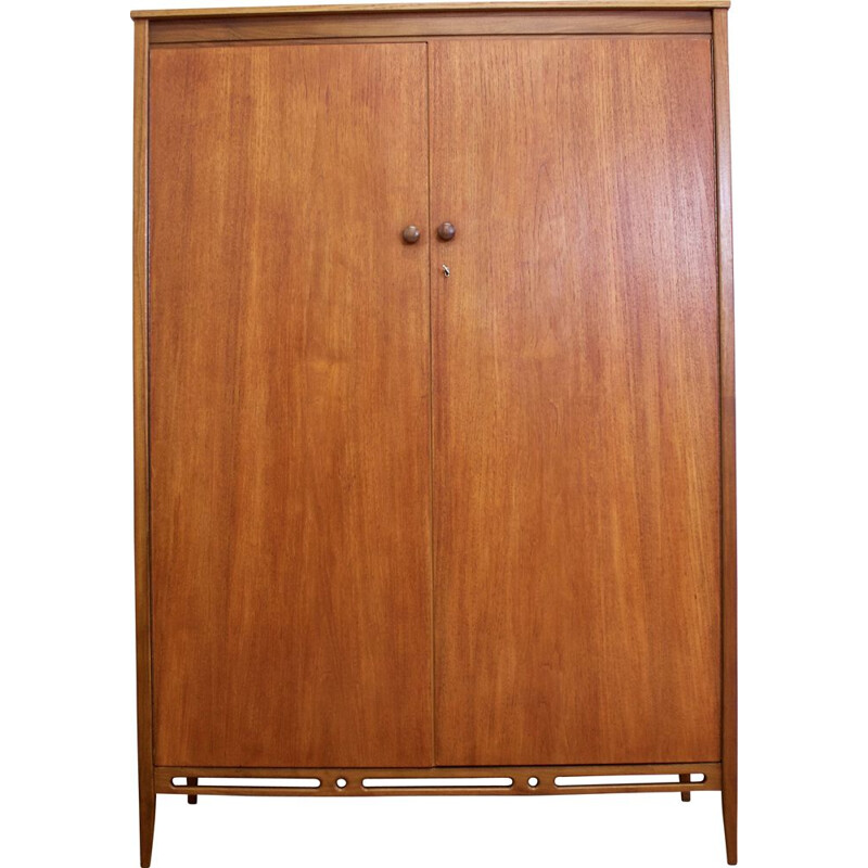 Mid century teak wardrobe from A. Younger Ltd, 1960s