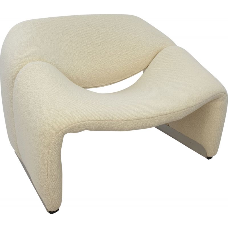 Mid century groovy chair F598 by Pierre Paulin for Artifort, 1980s