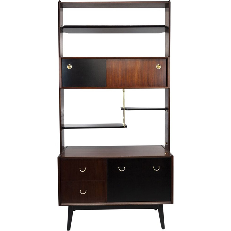 Vintage Librenza room divider wall unit by G-Plan, 1950s