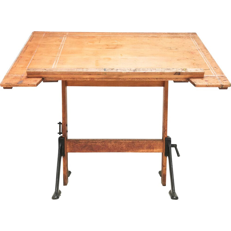 Vintage Draughtsmans table by BJ Hall for Admel Architect, England