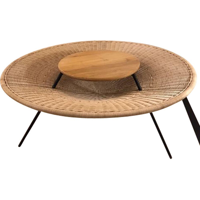 AR36 vintage table by Janine Abraham & Dirk Jan Rol contemporary edition Oxyo, 1958s