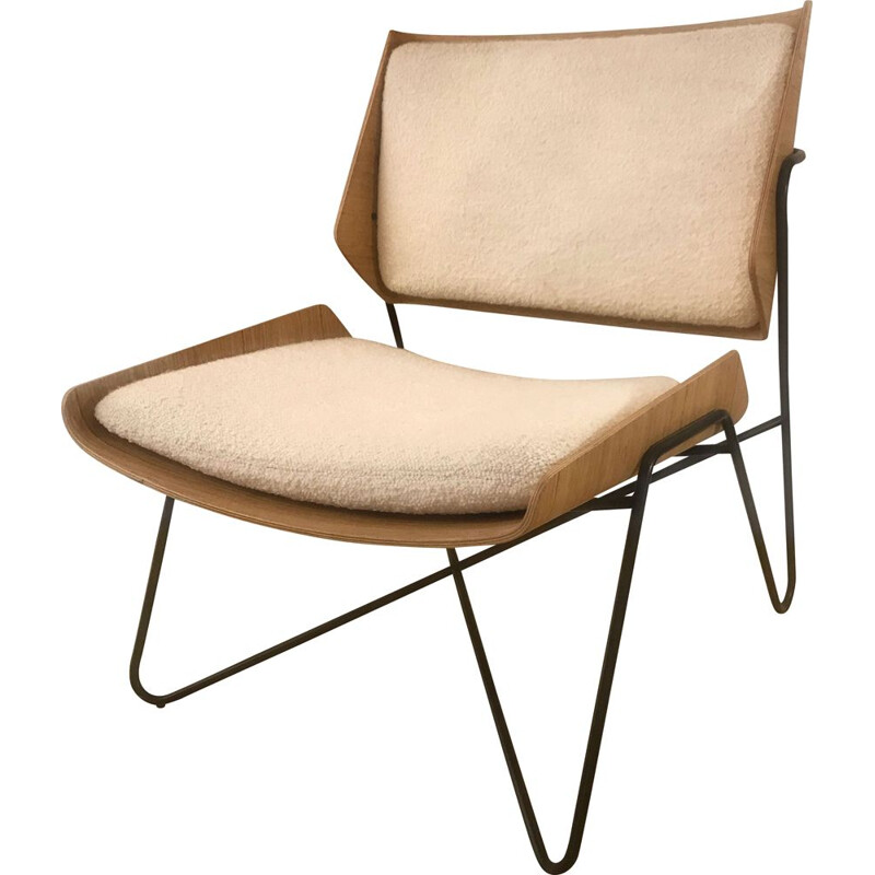 Mid century low chair AR 02 contemporary edition Oxyo by Janine Abraham & Dirk Jan Rol, 1957s