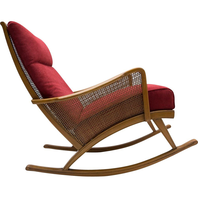 Mid centuy rocking chair, 1950s