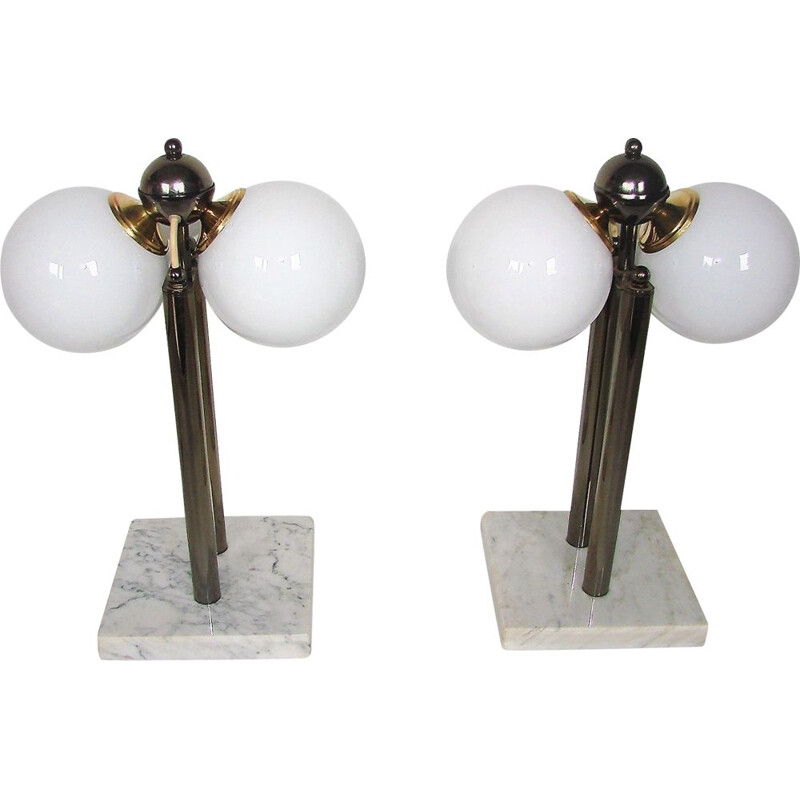 Pair of Kabo vintage table lamps, 1980s
