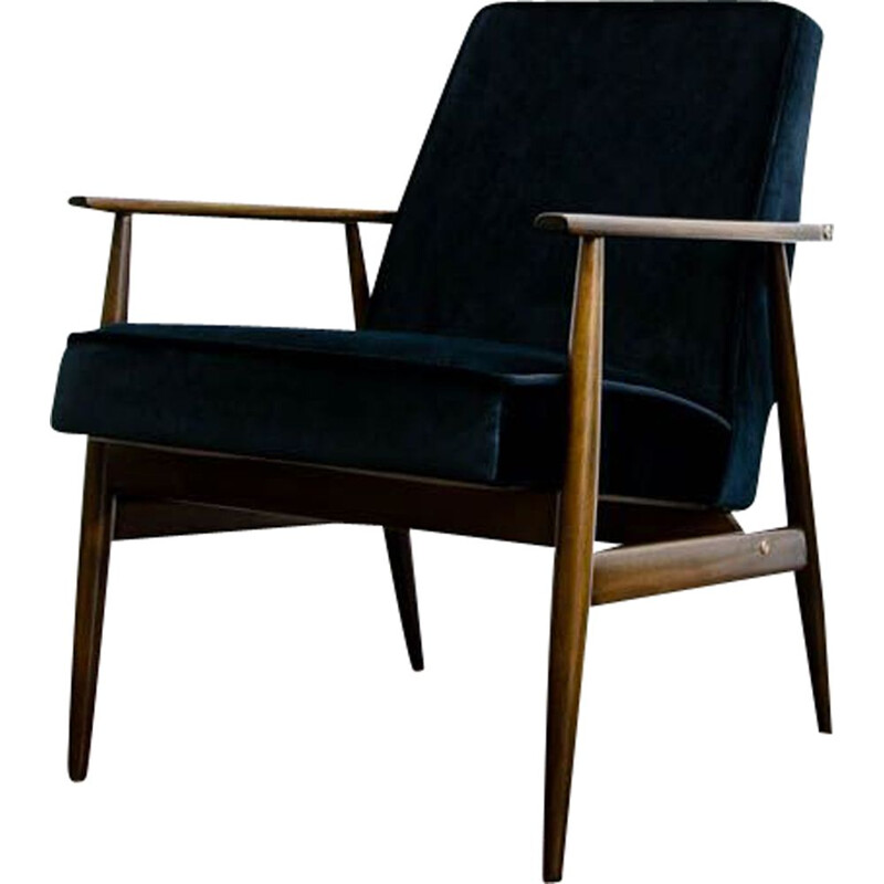 Vintage armchair type 300-190 by H. Lis, Poland 1960s