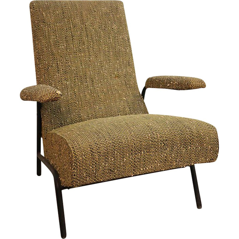 Vintage armchair by Guy Besnard, 1950s