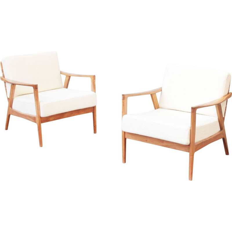 Pair of lounge chairs by Knoll Ant, Germany 1960s