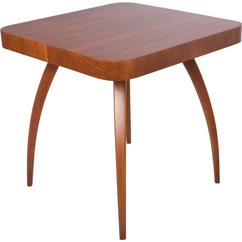 """Vintage """"Spider"""" H259 coffee table by Jindřich Halabala for UP Závody, 1950s"""