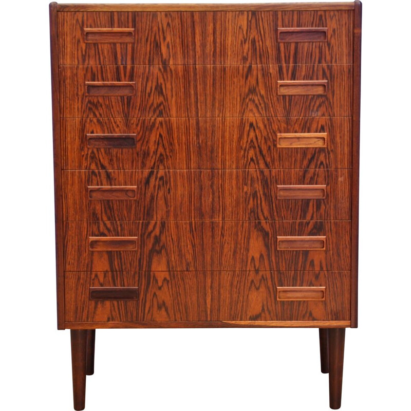 Vintage danish chest of drawers in rosewood, 1960s