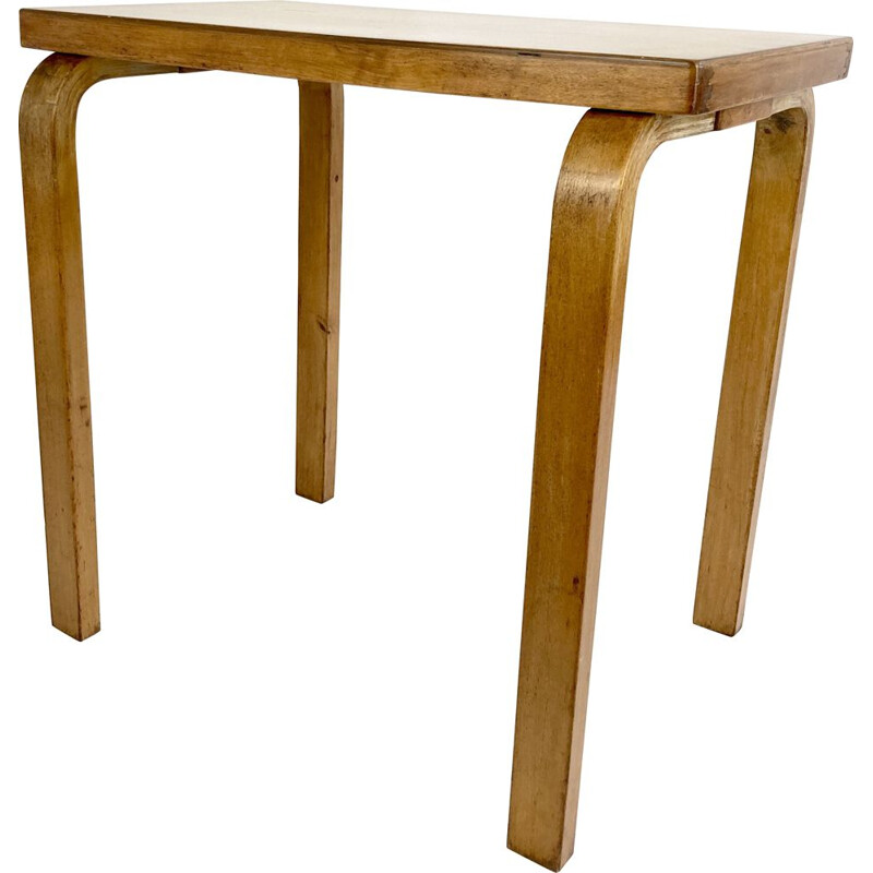 Mid-century small side table by Alvar Aalto for UK by Finmar, 1930s