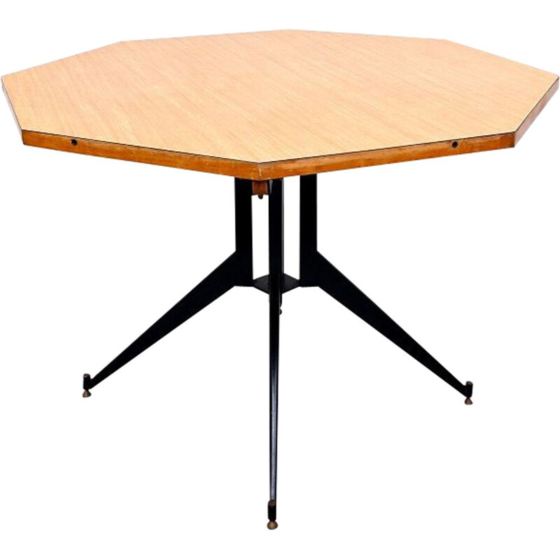 Mid-century extensions dining table by Carlo Ratti, 1960s
