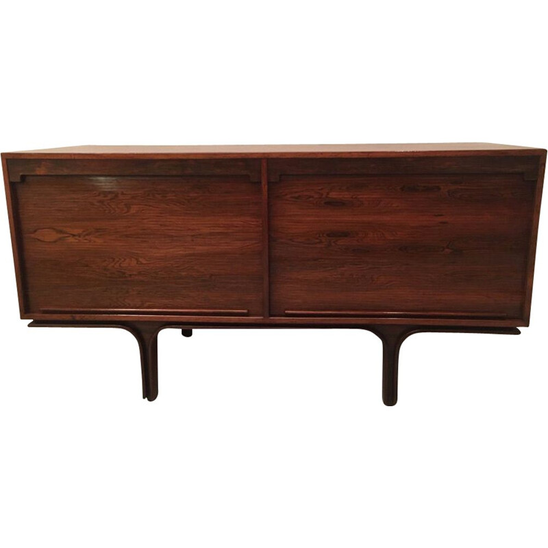 Mid-century rosewood sideboard by Gianfranco Frattini, Italy 1957