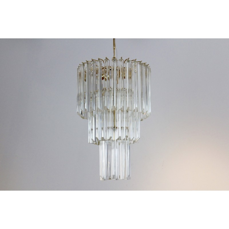 Large chandelier in murano glass paolo venini 1960s design market previous aloadofball Images