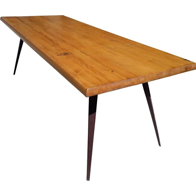 Dining table by Charlotte Perriand and Jean Prouvé