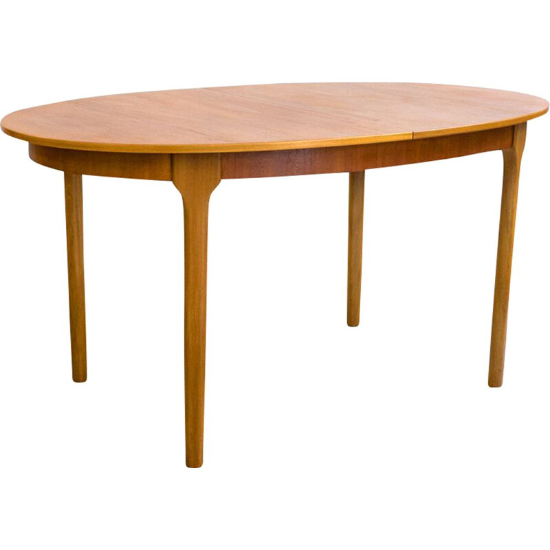 Mid century teak extendable dining table by Mcintosh, UK 1970s
