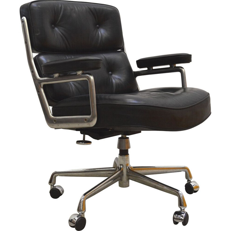 Vintage ES104 time life lobby chair by Charles Eames for Vitra, 1960s