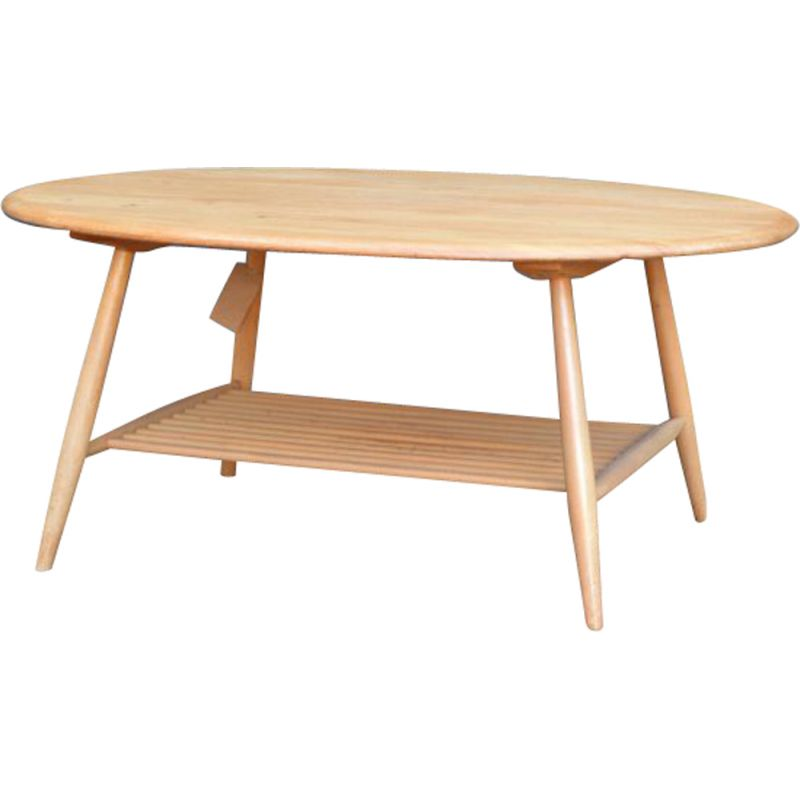 Vintage coffee table by Lucian Ercolani for Ercol, 1950s