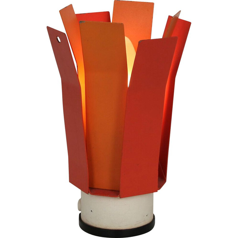 Metal vintage table lamp by Philips, Netherlands 1960s