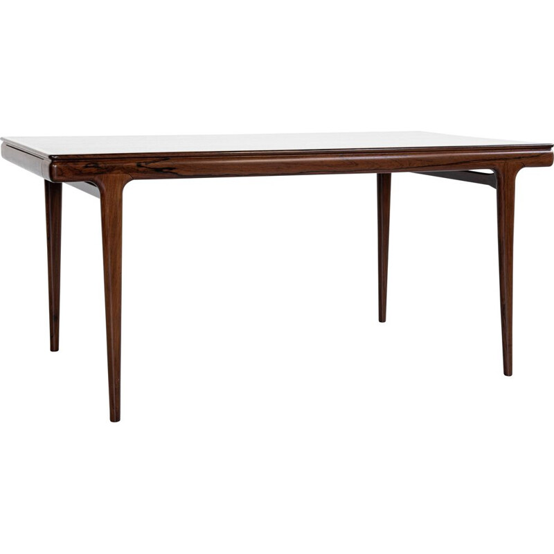 Mid century dining table in rosewood by Johannes Andersen for Uldum, Denmark 1960s