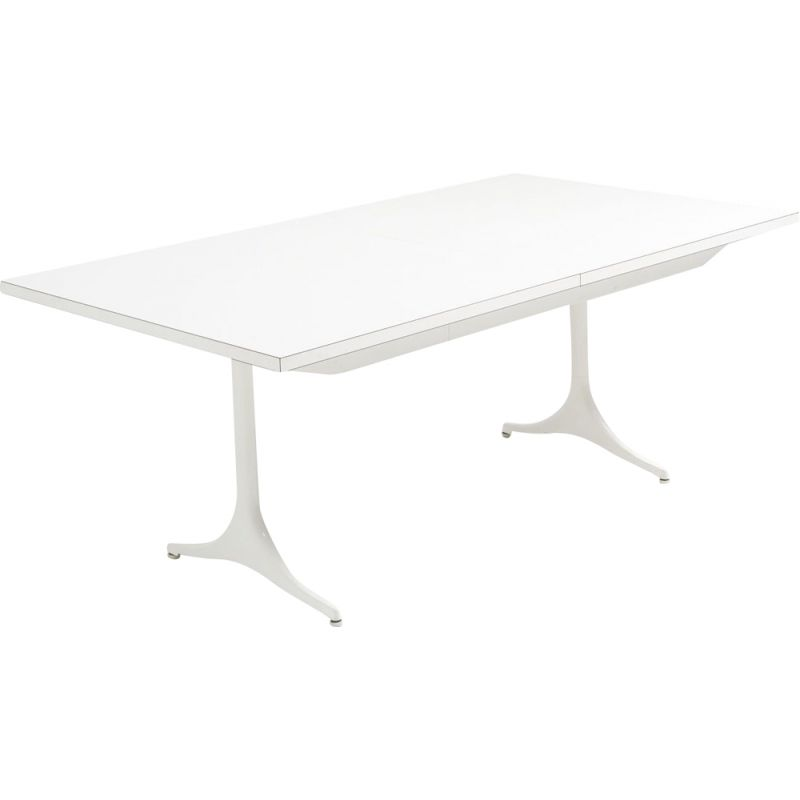 Vintage pedestal dinning table by George Nelson for Herman Miller, USA 1950s