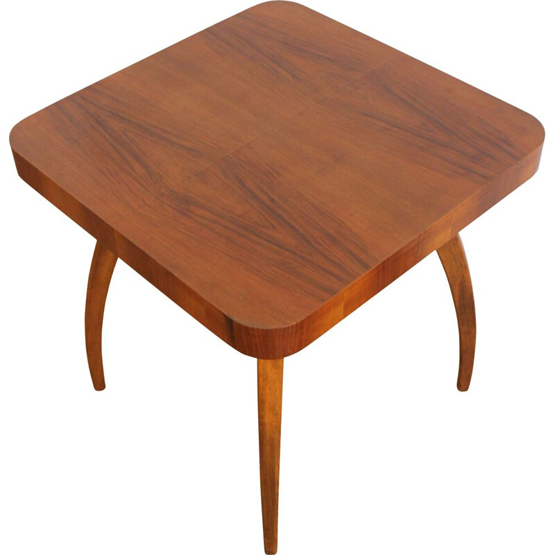 Vintage coffee table type H 370 by Jindrich Halabala pour UP Brno, 1950s