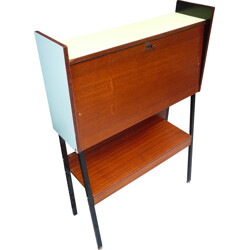 Mid-century secretary desk in wood - 1960s