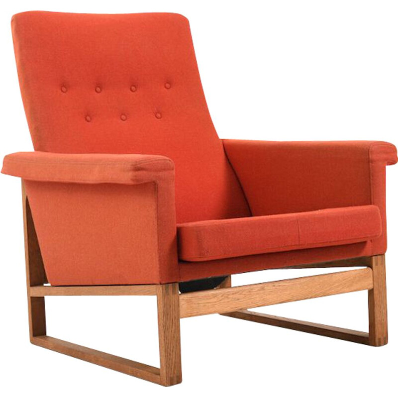 Vintage early danish lounge chair by Børge Mogensen for Fredericia Stolefabrik, 1950s
