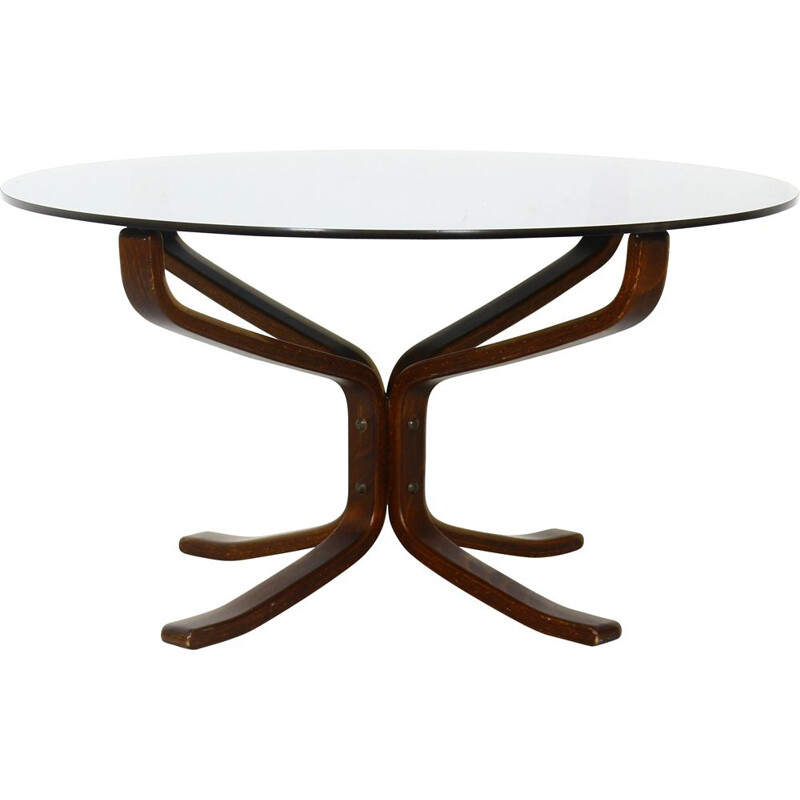 Falcon vintage coffee table by Sigurd Resell, Norway 1971s