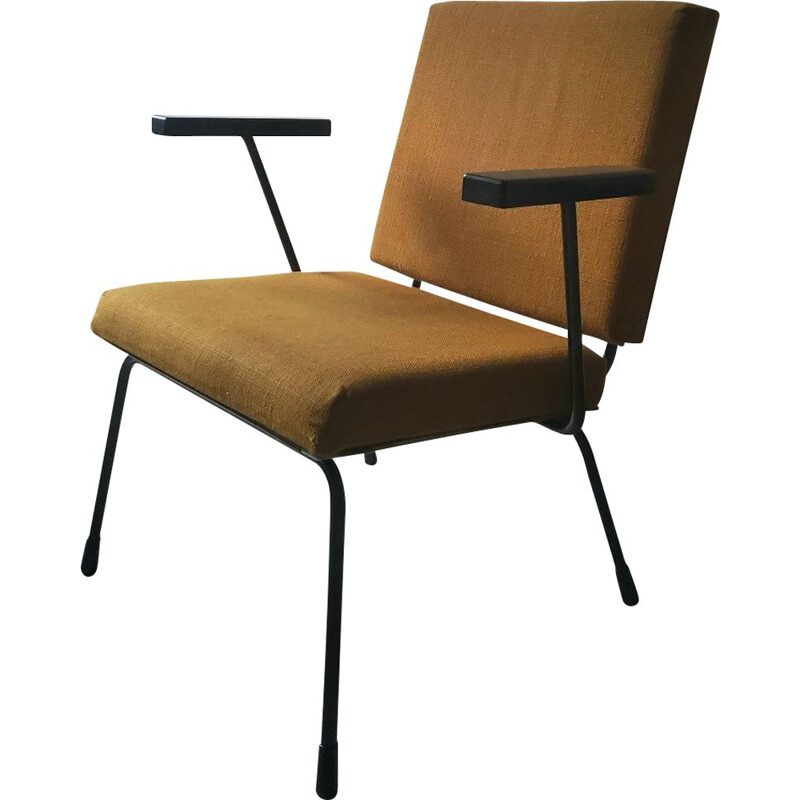 Vintage armchair by Wim Rietveld for Gispen, 1950s