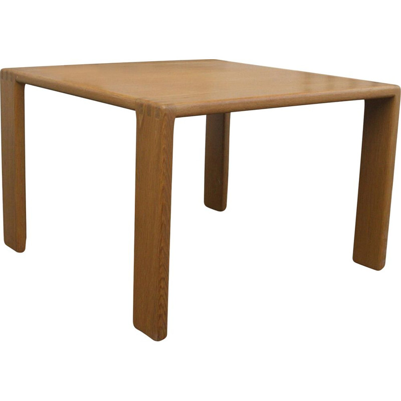 Vintage side table in oak by E. Pajamies for ASKO, Finland 1970s