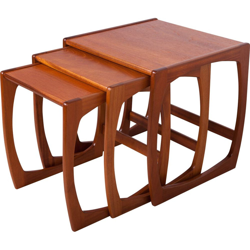 Vintage nesting tables by Victor Wilkins for G-Plan, 1970s