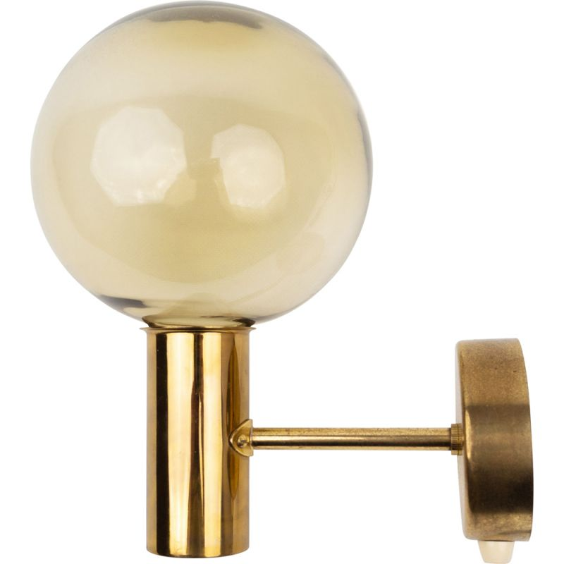 Vintage wall lamp by Hans-Agne Jakobsson for AB Markaryd, Sweden 1950s