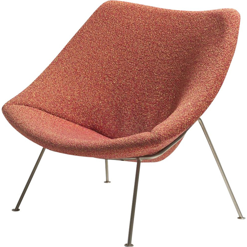 Vintage Oyster easy chair by Pierre Paulin for Artifort, Netherlands 1950s