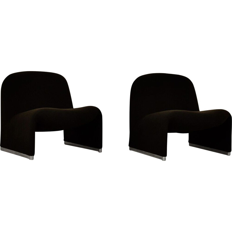 Pair of vintage Alky armchairs by Giancarlo Piretti for Anonima Castelli, 1970s