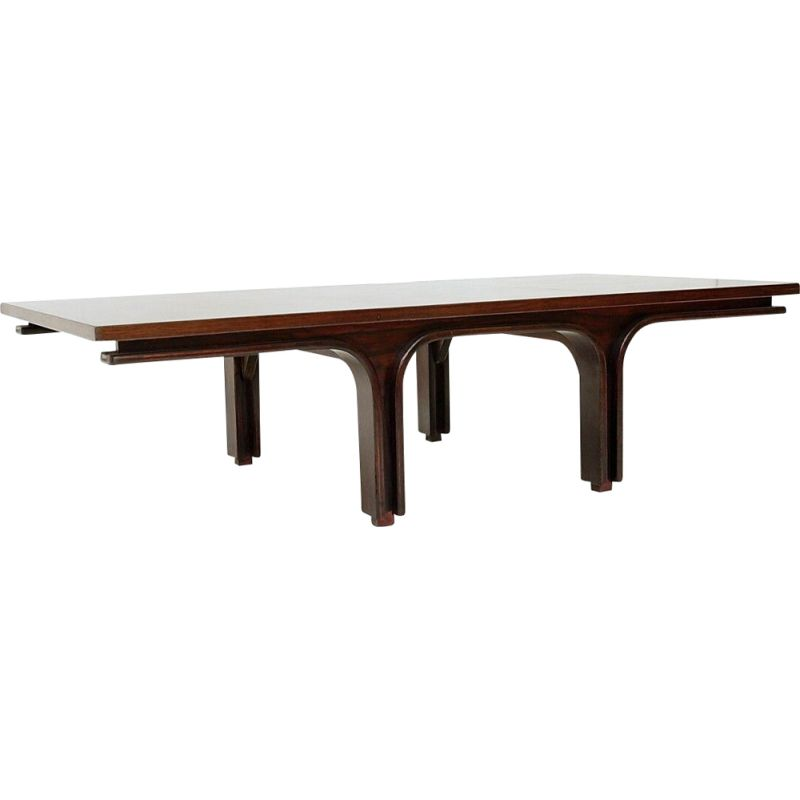 Vintage coffee table by Gianfranco Frattini for Bernini, 1960s