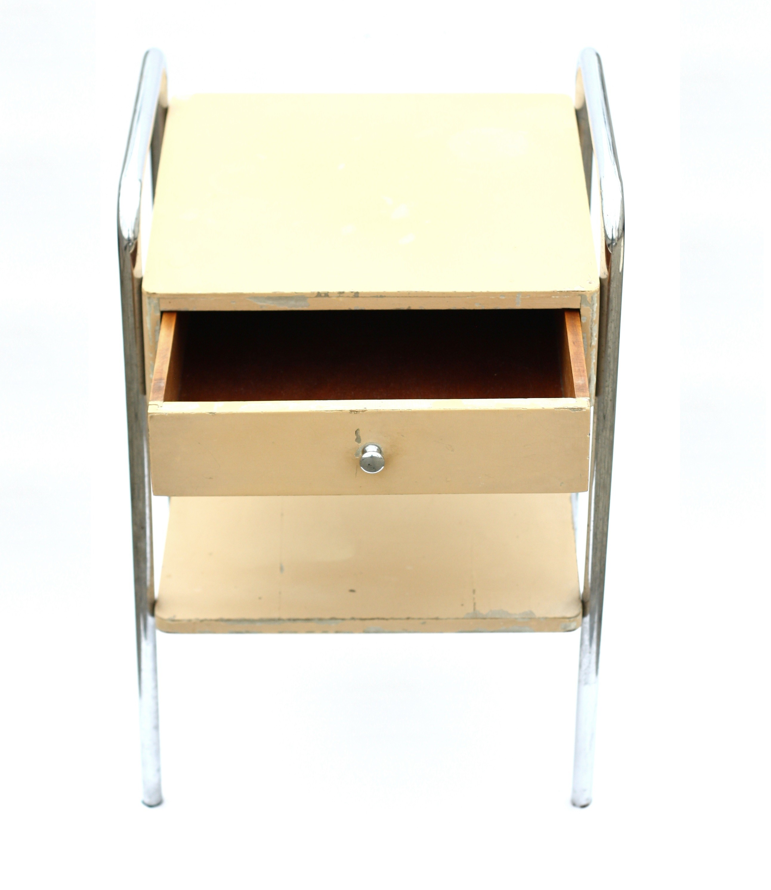 Vintage bedside table ideas - Vintage Bedside Table With Drawer Robert Slezak 1940s Previous Next