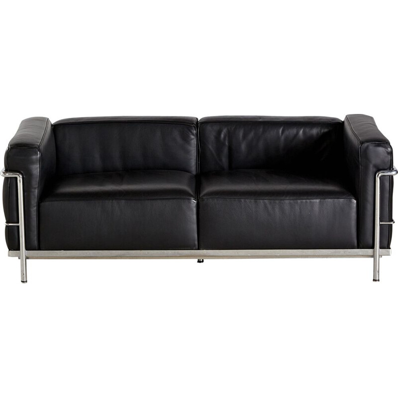 Vintage LC3 sofa by Le Corbusier for Cassina, Italy