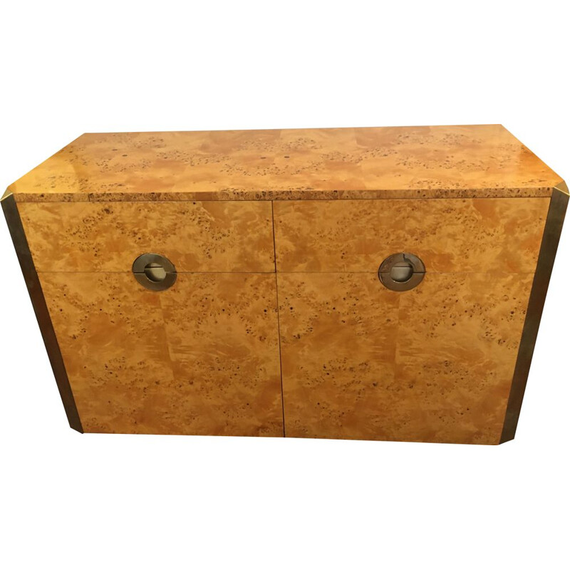 Vintage sideboard without legs, Mario Sabot edition by Willy Rizzo