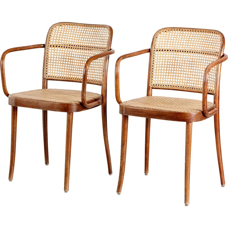Pair of vintage A811 chairs by Thonet