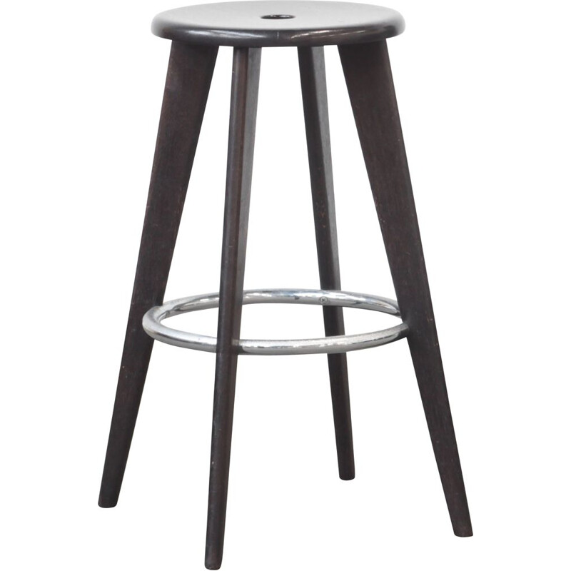 Vintage barstool by Jean Prouve for Vitra, 1940s