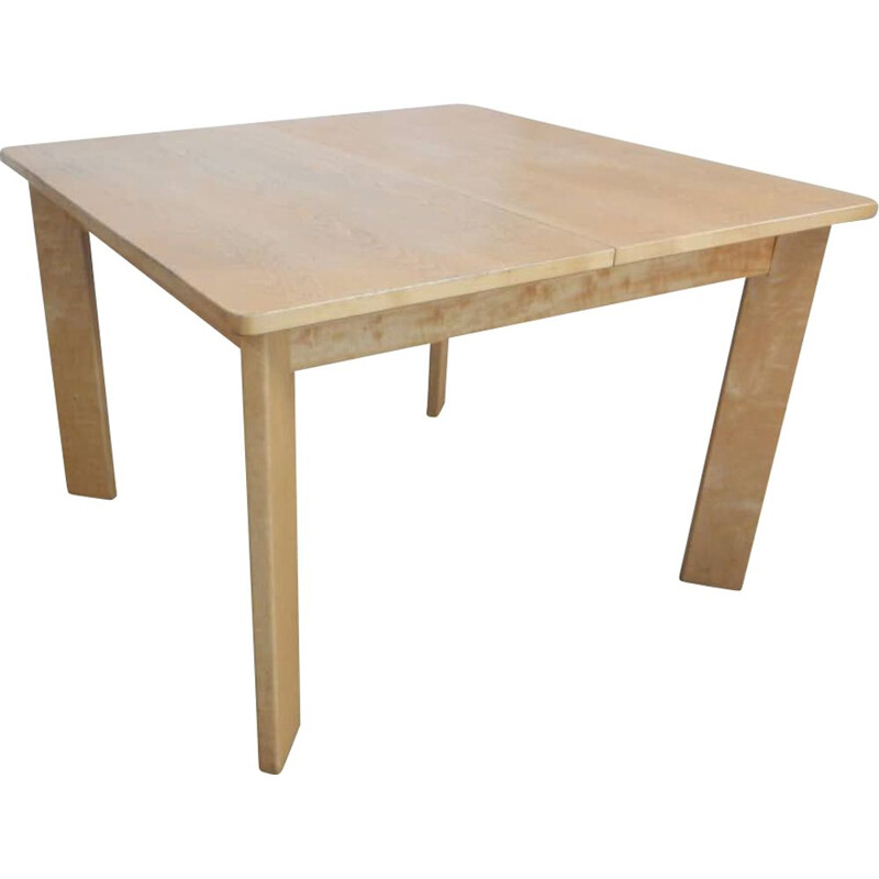 Vintage ashwood table with extensions