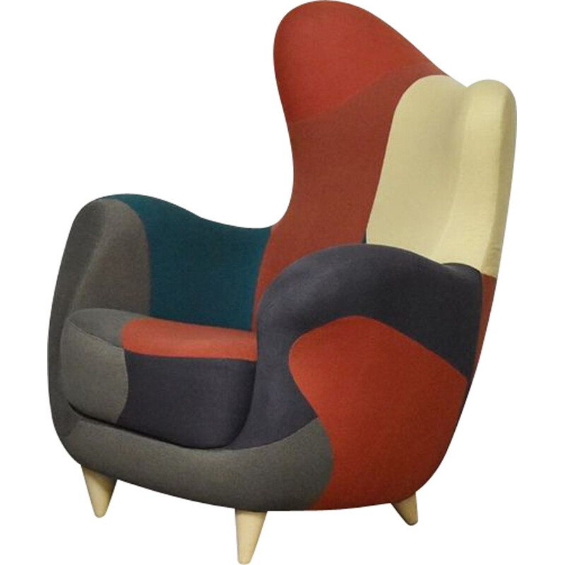 Vintage armchair Alessandra by Javier Mariscal for Moroso, 1995