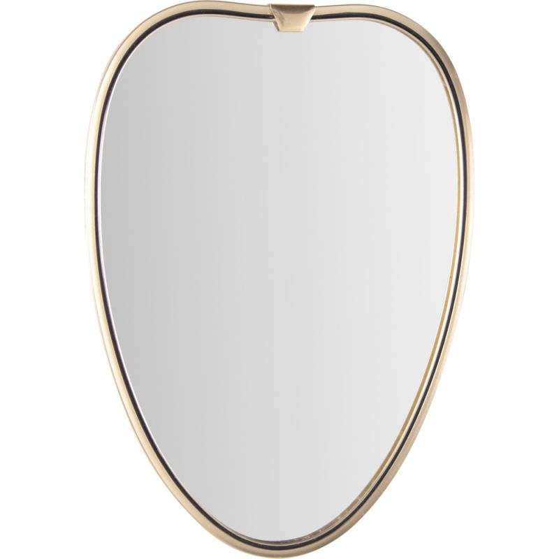 Vintage heart shaped mirror, 1960s